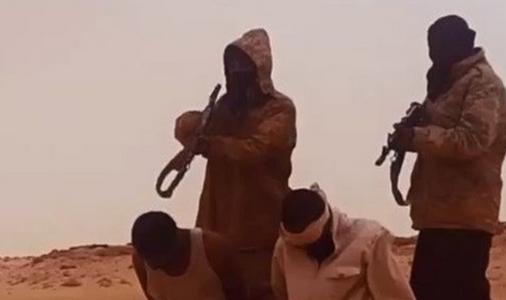داعش فیلمی را از سر بریدن چند اسیر در لیبی منتشر کرد