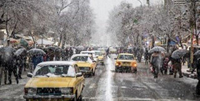 شرایط وقوع یخبندان صبحگاهی در کردستان