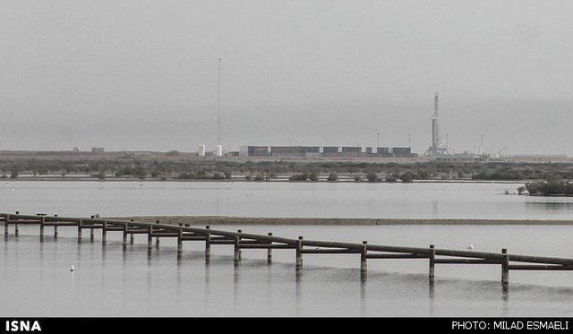 تهدید همیشگی تالاب های خوزستان با فاضلاب و پساب های نفتی