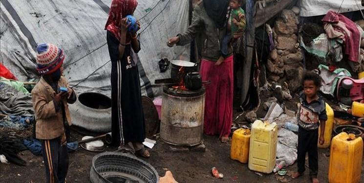تجاوز ائتلاف سعودی به یمن 4 میلیون نفر را آواره کرد