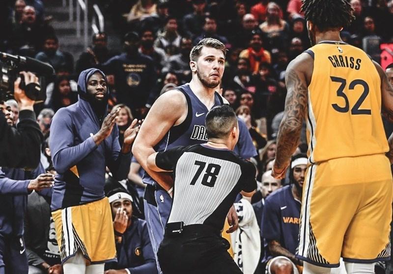 لیگ NBA، جریمه سنگین بازیکن وریرز به خاطر هل دادن حریف