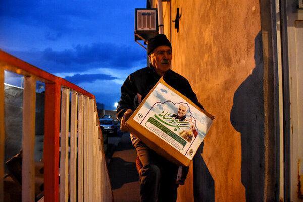 توزیع 17 هزار بسته معیشتی در گلستان ، کمک رسانی به صورت محرمانه و با حفظ تکریم