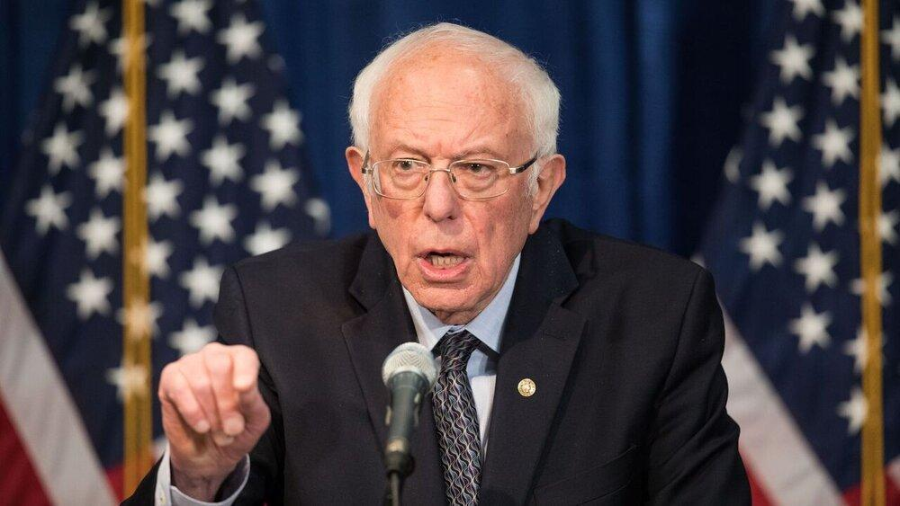 سندرز: آمریکا با بدترین شرایط از زمان جنگ جهانی روبرو است