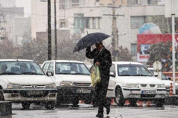 هواشناسی ایران 99، 8، 17، باران و برف 5 روزه در 14 استان